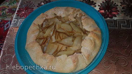 Сельский грушевый пирог