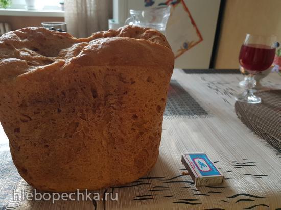 Пшеничный хлеб на ржаной закваске