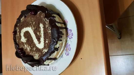 """Торт """"Классический"""" (бисквит и крем)"""