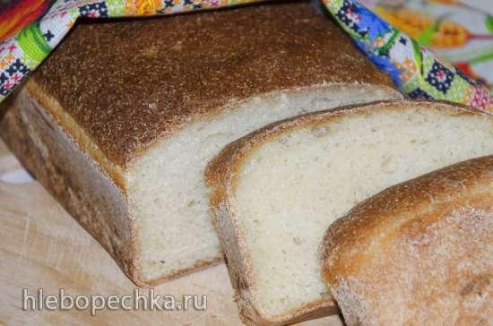 Постный манный хлеб