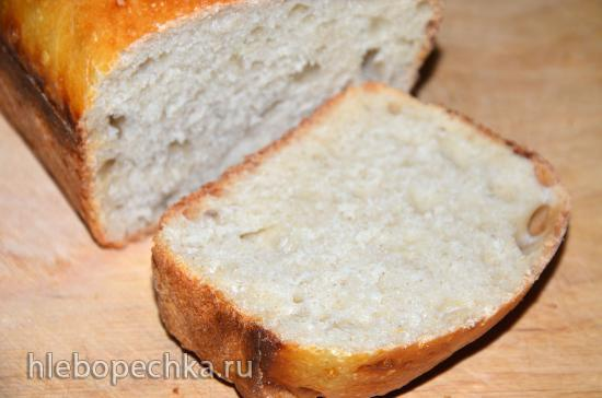 Хлеб по мотивам сдобного в упаковке из времен СССР
