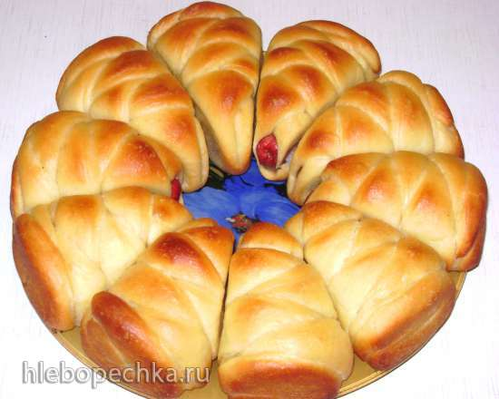 Кексы, кексики или порционные заливные пирожки с варёной сгущёнкой