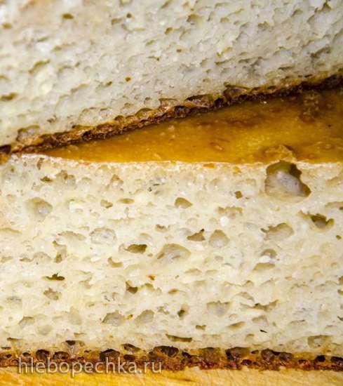 Хлеб пшеничный заквасочный без замеса