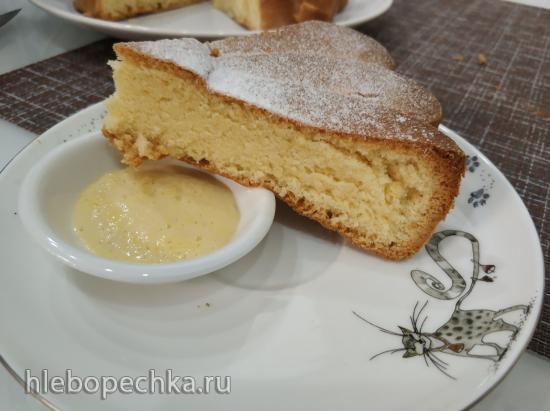 Лимонный кекс на оливковом масле (Lemon Ciambella Cake)