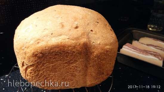 Хлеб С миру по нитке-2 в хлебопечке Панасоник