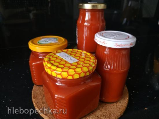 Натуральная  итальянская passata томат-пюре из мякоти помидор (на каждый день и консервация)