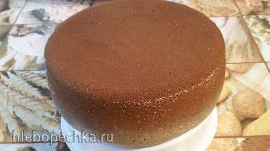 Бисквит медовый ленивый на соде