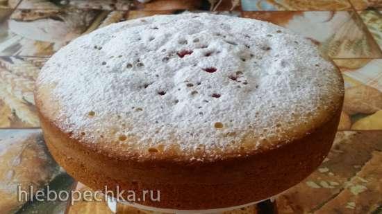 Ягодный пирог в мультиварке Philips 3134/00