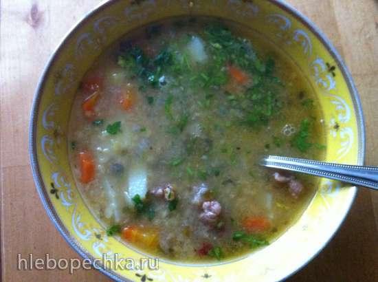 Турецкий суп из красной чечевицы в мультиварке VES SK-A14