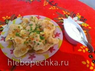 Тесто для вареников и пельменей (хлебопечка)