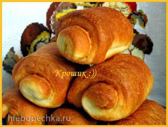 Булочки дома Паркеров (Parker house rolls)