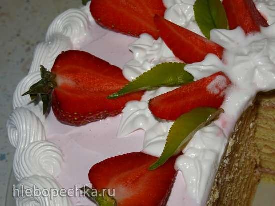 """Торт """"Барышня Тиффани"""" (по мотивам торта """"Штефания"""")"""