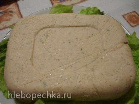 Сливочно-рыбная закуска из семги