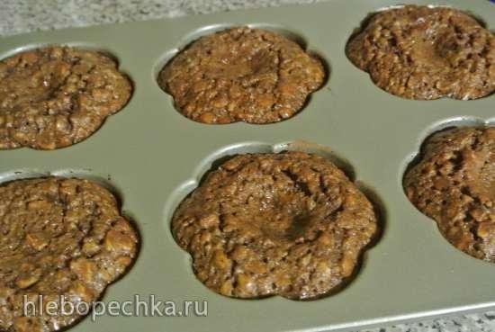 Техасские шоколадные кексы (Maida Heatter)