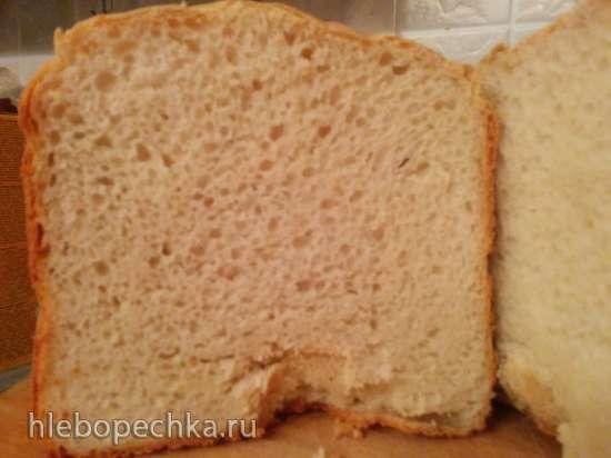Хлеб с творогом (хлебопечка)
