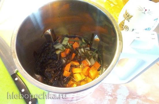Суп-пюре в зелёных тонах (одиннадцать в одном)