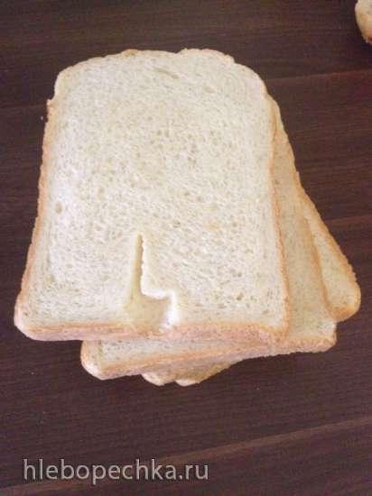 Хлеб на кефире  (хлебопечка)