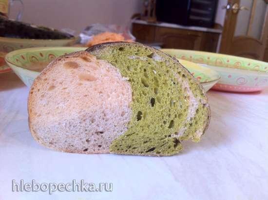 Пшеничный хлеб Томат-шпинат