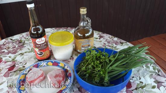 Метровый салат из тунца
