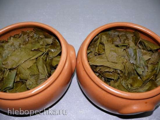 Зеленый чай из листьев садовых и дикорастущих растений, сушёные клубничные хвостики
