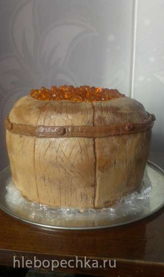 "Торт ""Бочонок"" (мастер-класс)"