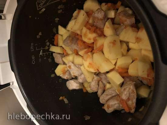 Жаркое из свинины в Element el'chef FWA01PW