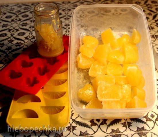 Лимонные кубики (замороженные)