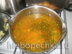 Томалак шорба (Суп с фрикадельками)