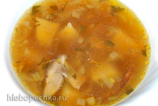 Суп из сушеных белых грибов (Polaris 0305)