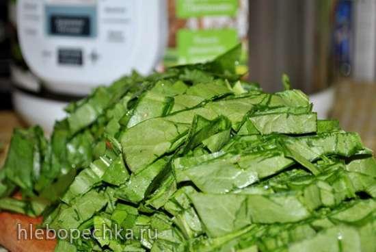 Борщ зеленый / с щавлем (скороварка Polaris 0305)