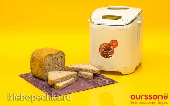 Oursson BM0801J. Медовый хлеб в хлебопечке