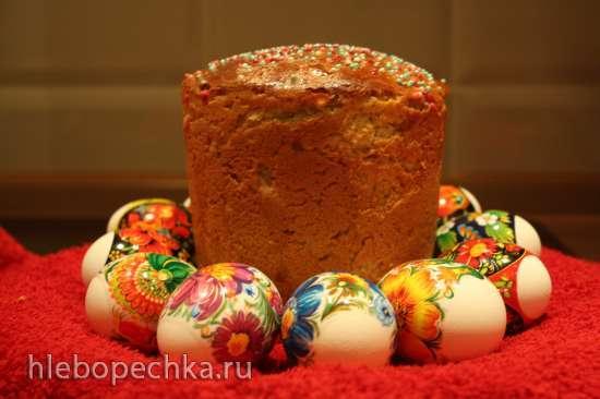 Кулич «Печерский» (замес в хлебопечке)