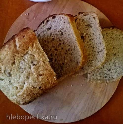 """Заварной луковый хлеб с цельнозерновой мукой на жидких дрожжах """"Чиполлино"""""""