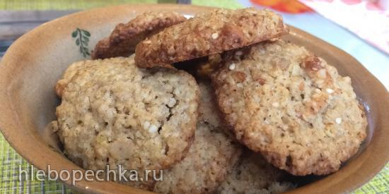 """Овсяное печенье """"Oatmeal cookies"""" по-икеевски"""