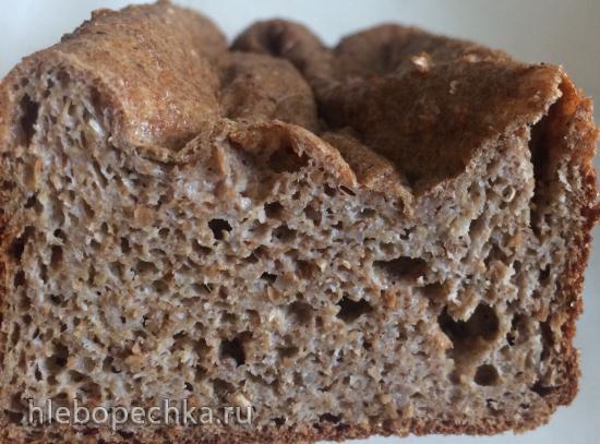 Отрубной хлеб на твороге с псиллиумом