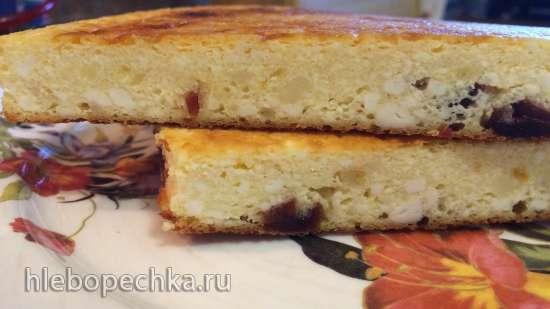 Творожная запеканка «Дежурная» (Прибор для выпечки Tortilla Chef 118000 Princess)