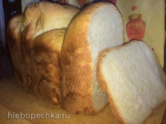 Молочный хлеб для тостов (кухонный процессор Bomann KM 398 CB)