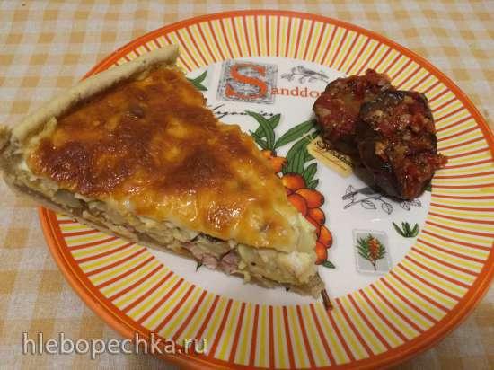 Лотарингский пирог с курятиной