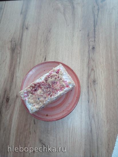 Полезное пирожное «Наполеон»  к завтраку за 5 минут