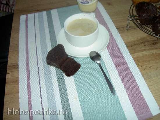 """Бразильский шоколадный кекс """"Nega maluca"""""""