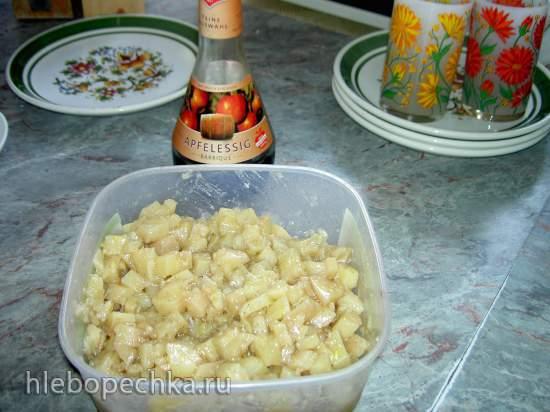 Картофельный салат с яблочным уксусом