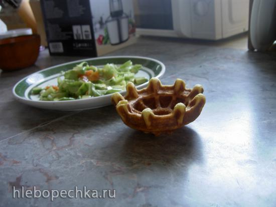 Тарталетки в вафельнице-тарталетнице Emerio