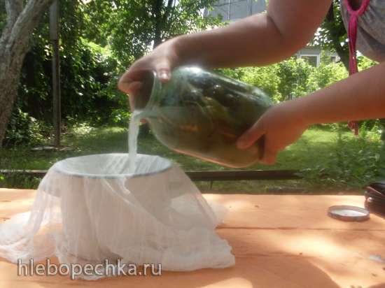Огурчики естественного брожения (без уксуса) под закрутку