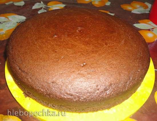 Торт шоколадный шифоновый