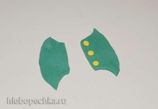 Лепка персонажей из м/ф Лунтик из мастики (мастер-класс)