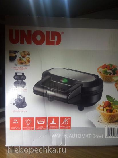 Продаю: Тарталетница-вафельница UNOLD 48315