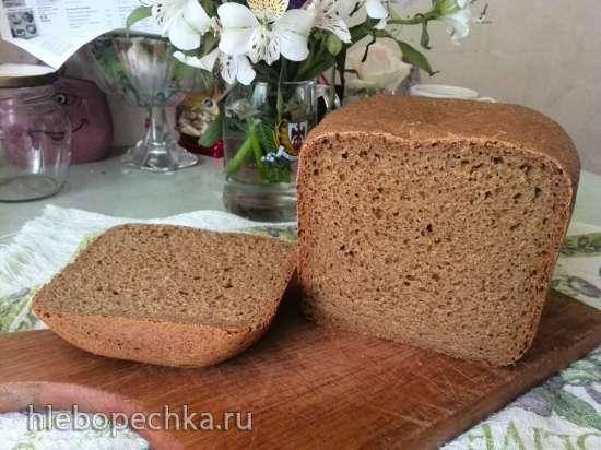 Ржаной хлеб Всё очень просто в хлебопечке