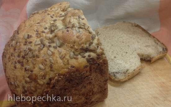 """Хлеб пшенично-ржаной с зерновой смесью """"Гурман"""""""