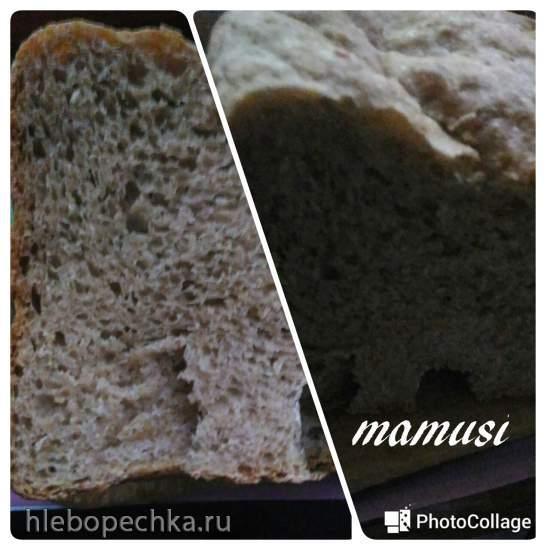 """Хлеб """"С миру по нитке""""-2 в хлебопечке Панасоник"""