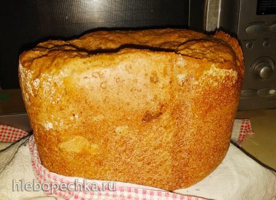 Малодрожжевой серый хлеб в Panasonic SD-2511